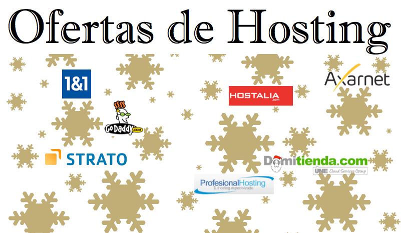 Mejores Ofertas hosting diciembre en España
