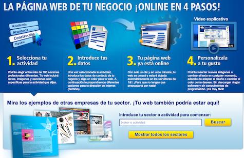 Análisis 1&1 Mi Web
