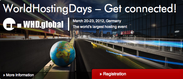 Invitación al World Hosting Days 2012