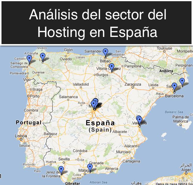 Análisis del sector del hosting en España