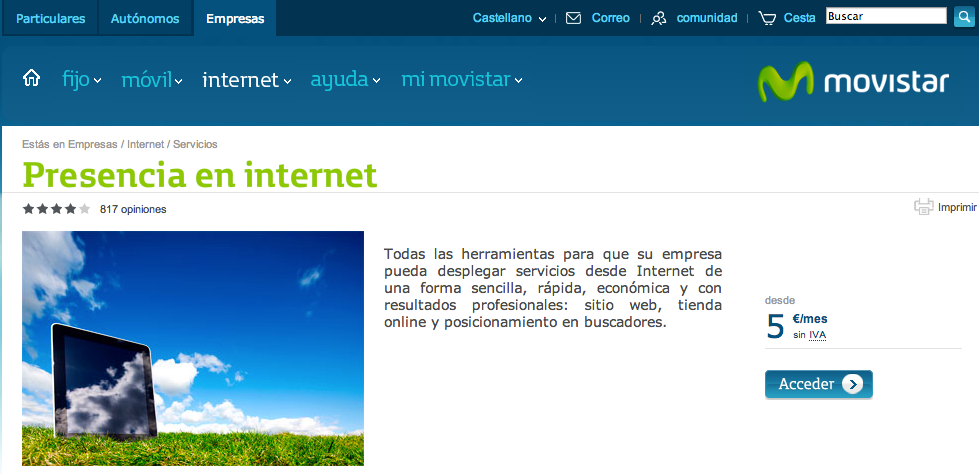 Te Destaco movistar