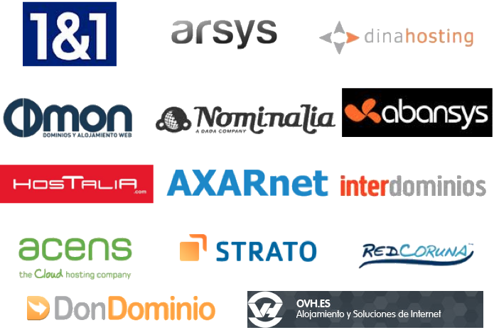 Empresas de Hosting en España