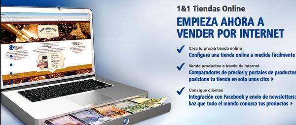 Nuevas Tiendas Online 1&1