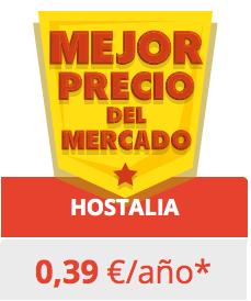 Hostalia oferta dominio .es