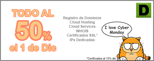 Cyber Monday Hosting Domitienda