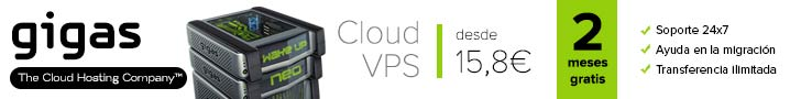 gigas hosting VPS Cloud