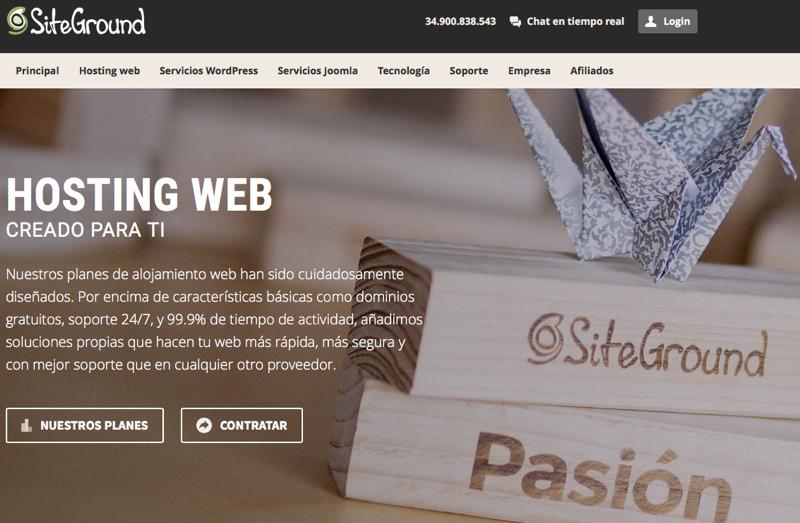 Análisis y opiniones sobre el hosting de SiteGround España